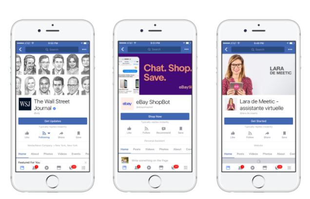 فيس بوك تحدث أدوات مسنجر لتواصل الشركات مع الزبائن