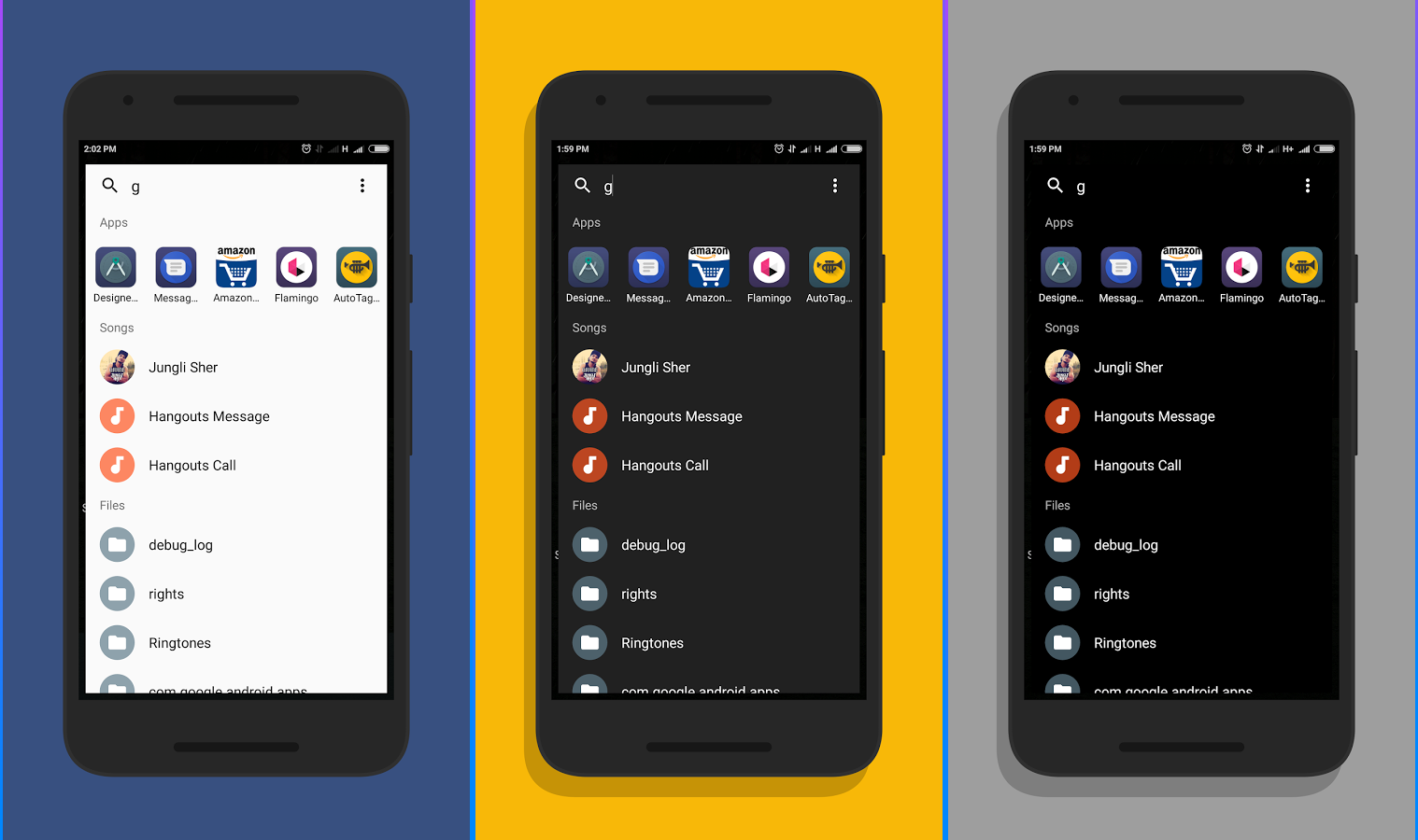 تطبيق Fast Finder للبحث عن التطبيقات والملفات في هاتفك الأندرويد