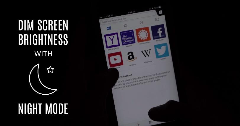 تحديث فايرفوكس على iOS يأتي بخاصية الوضع الليلي وقارئ الرموز