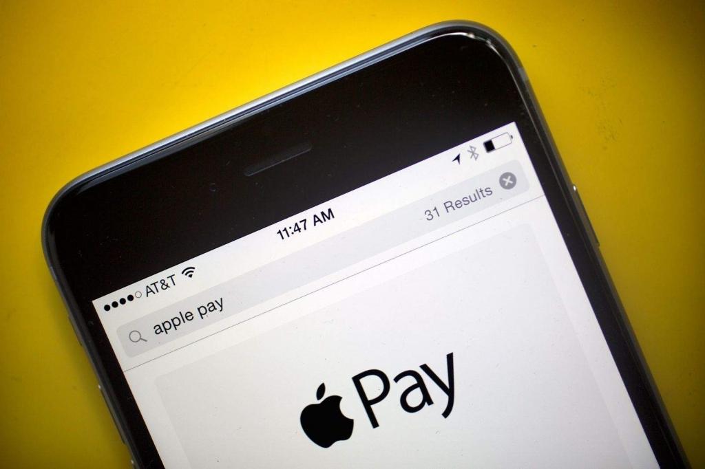 Apple Pay الدفع الإلكتروني