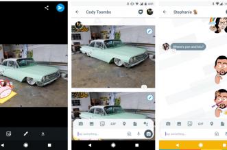 تطبيق Allo يضيف زر جديد لتحرير الصور والملصقات مباشرة