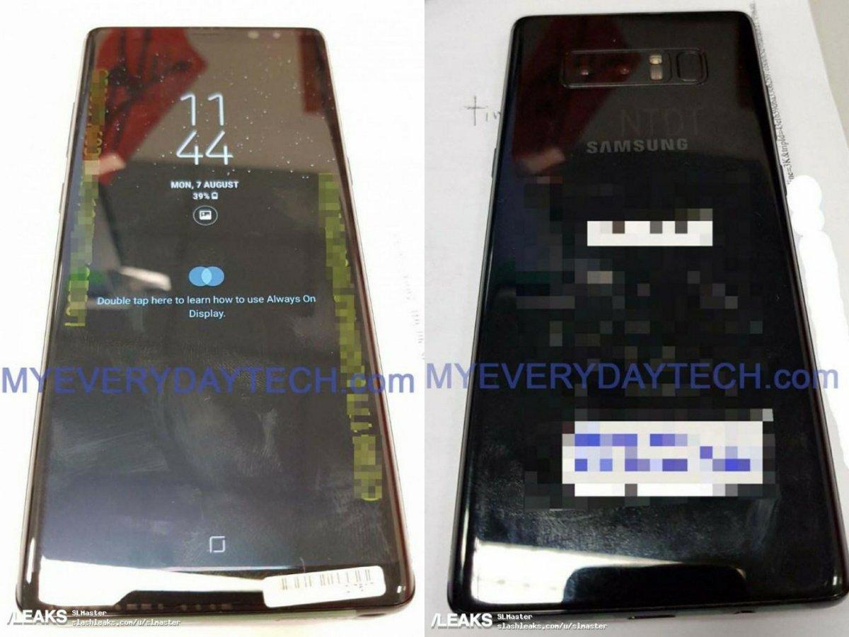 تسريب صور Galaxy Note 8