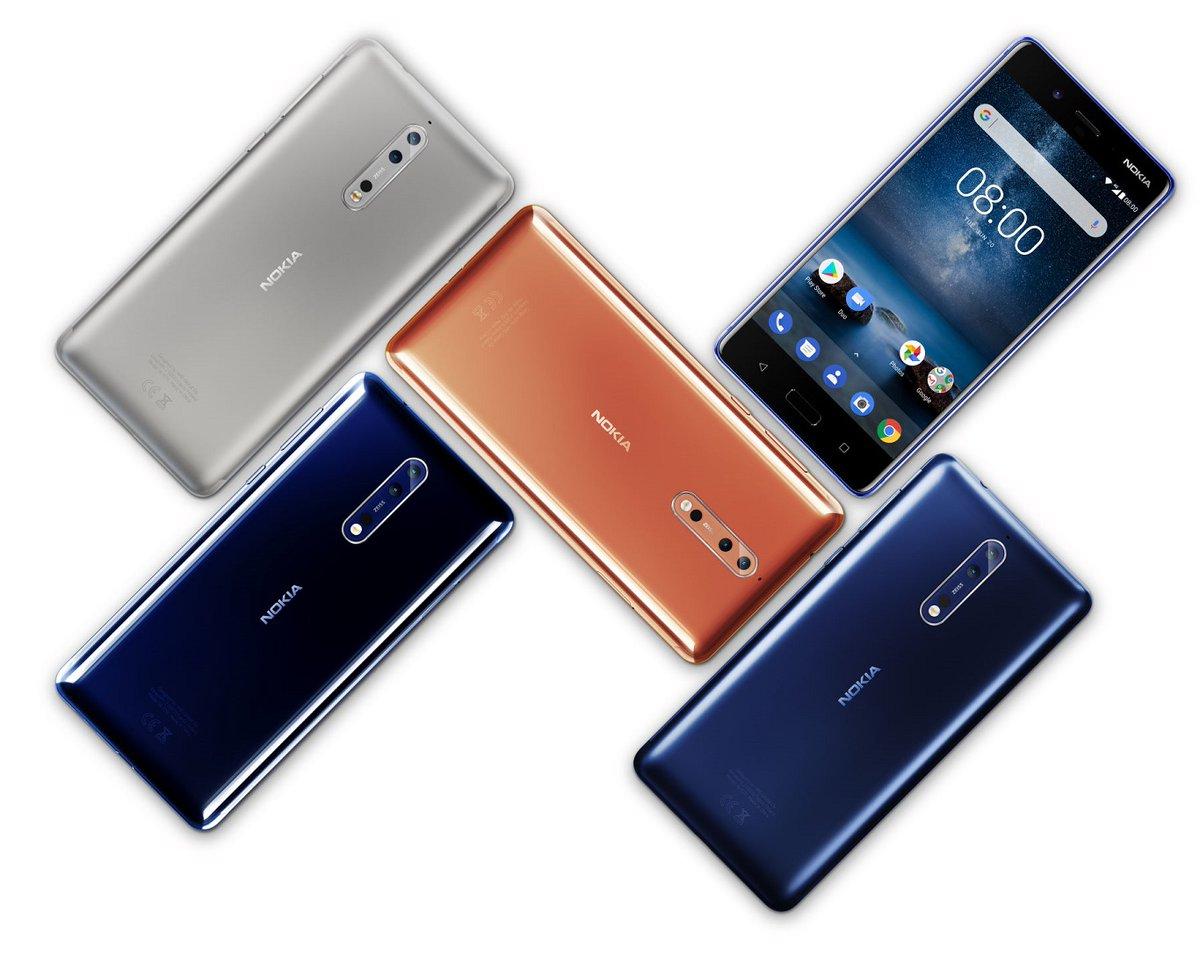 نوكيا تكشف رسميا عن هاتفها الرائد Nokia 8