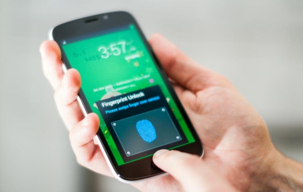 قارئات البصمة في الهواتف