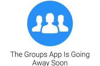 فيسبوك تغلق تطبيقها المجموعات في 1 سبتمبر