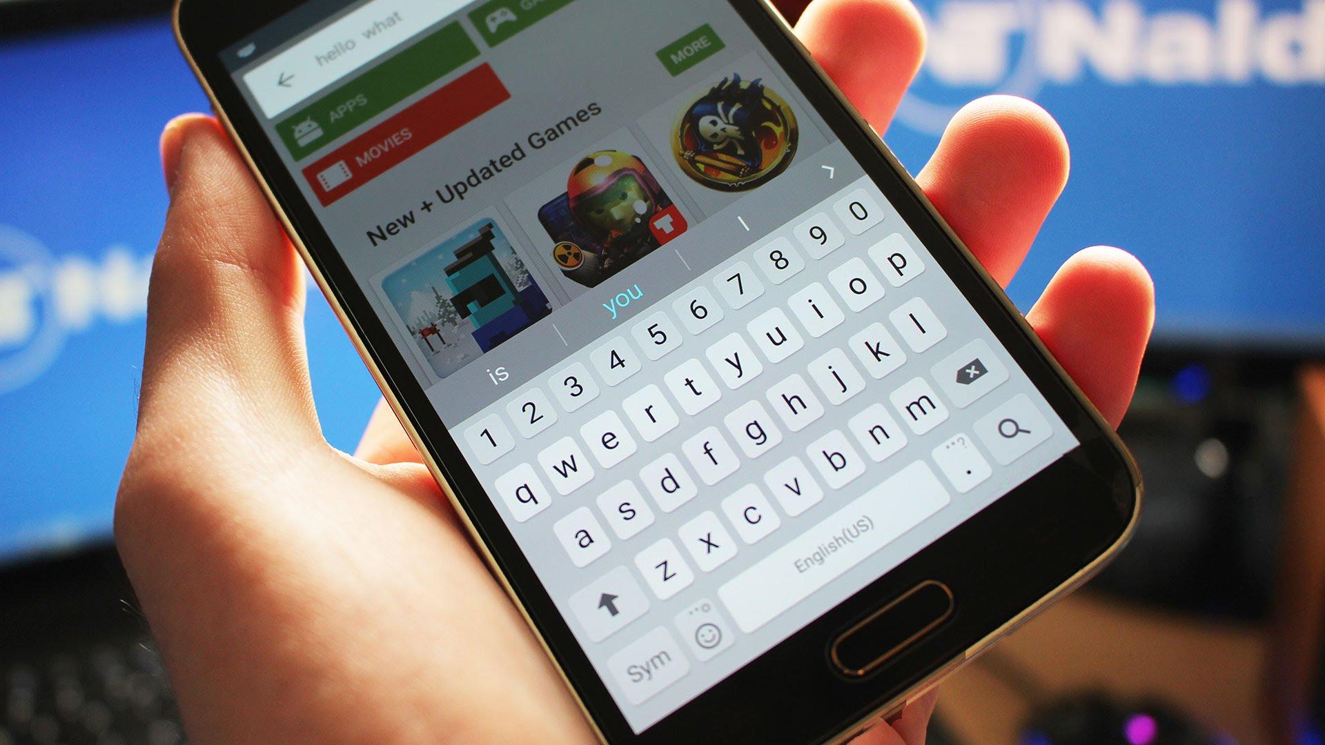 تطبيق لوحة مفاتيح سامسونج متاح الآن على متجر بلاي