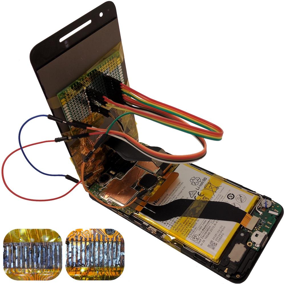 استبدال شاشات الهواتف في أماكن غير موثوقة قد يسمح باختراق الجهاز