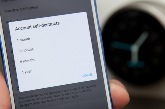 تيليجرام يأتي بخاصية التدمير الذاتي للصور والفيديوهات على ويندوز فون
