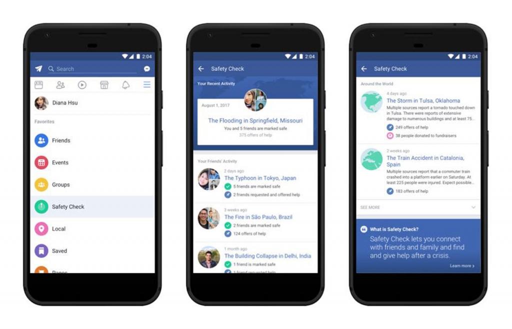 خاصيّة التأكد من السلامة في فيسبوك لم تعد محصورة بأوقات الكوارث فقط