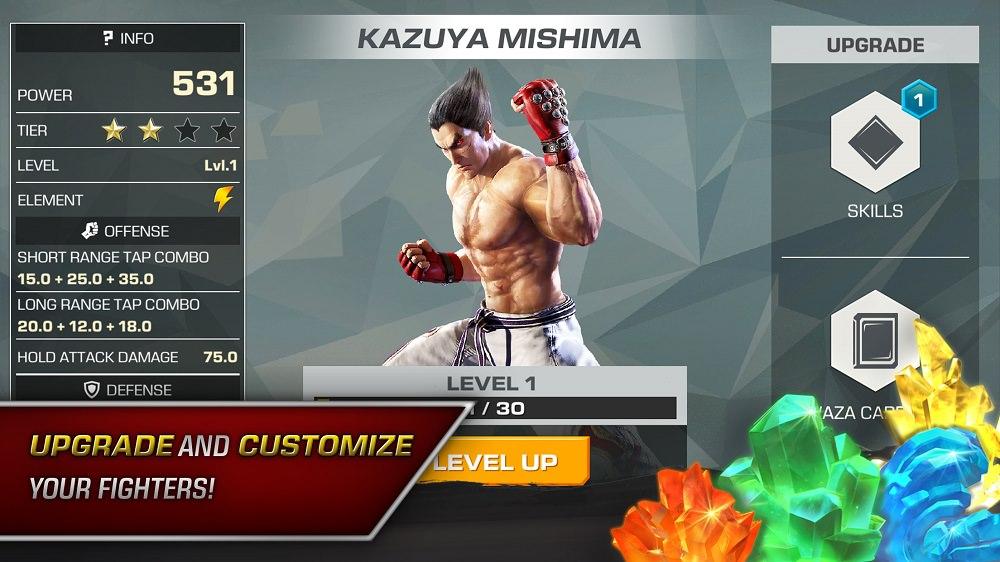 لعبة القتال Tekken تصل إلى الهواتف الذكية بشخصية عربية