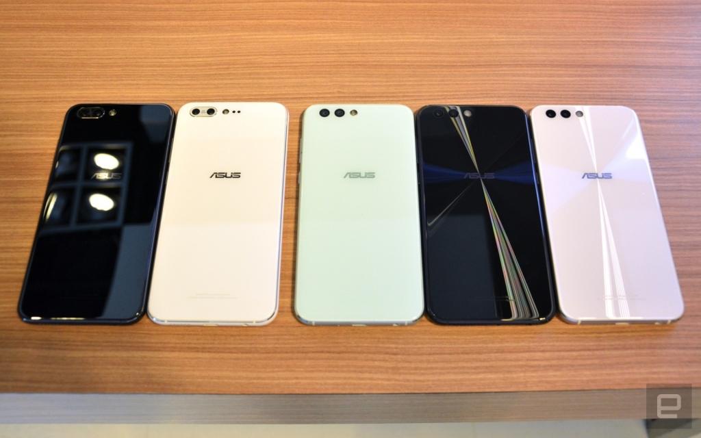 أسوس تطلق ستة هواتف زين فون 4 بكاميرات مزدوجة