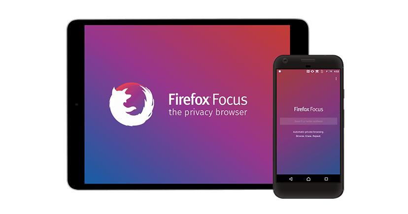 متصفح Firefox Focus يدعم الآن فتح صفحات متعددة وأكثر