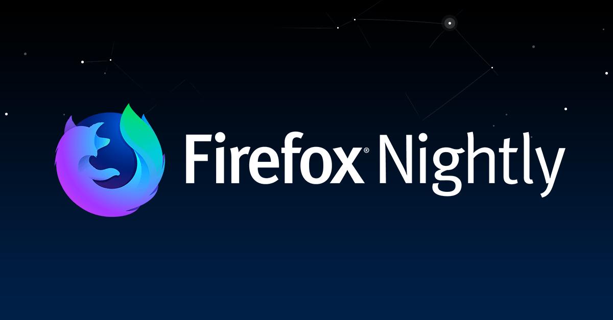 """فايرفوكس يدعمإنشاء وتحرير المجلدات في مدير الإشارات """"تجريبي"""""""