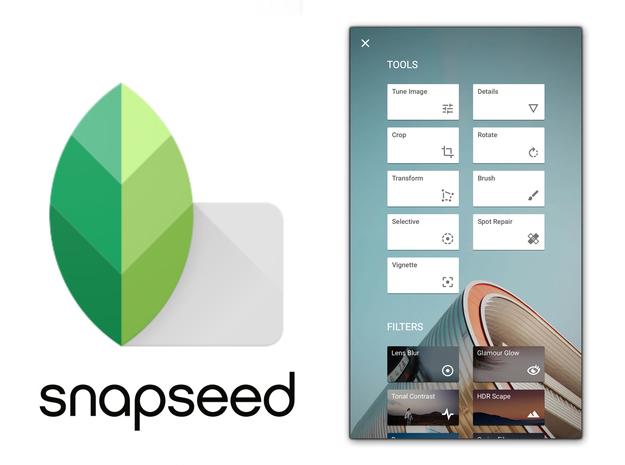 تطبيق Snapseed من جوجل يحصل على أو تحديث له منذ عام 2018