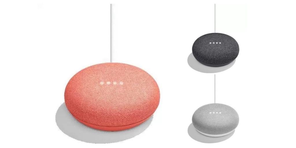 تسريب صور وأسعار مساعد غوغل المنزلي الصغير هوم ميني Home Mini