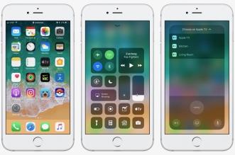 iOS 11 تحديث