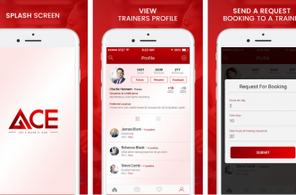 تطبيقأيس منصة شاملة للمدربين الشخصيين