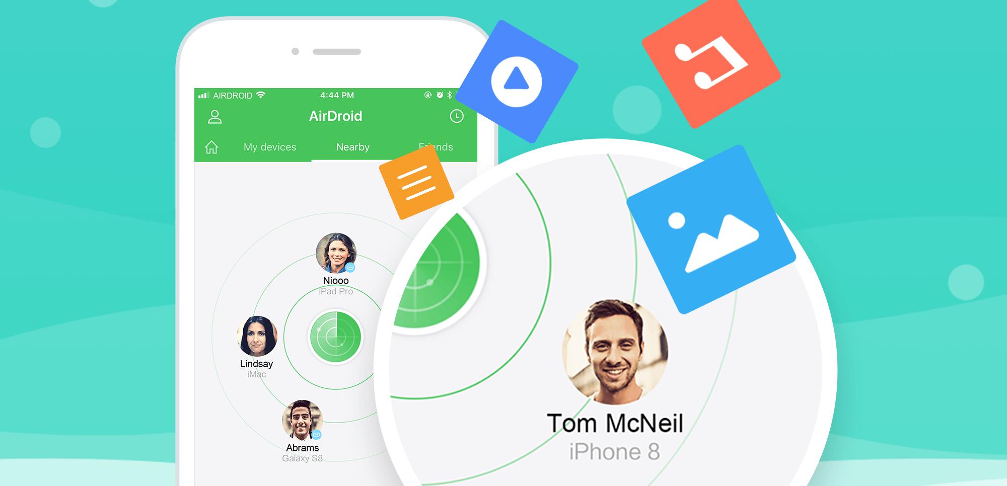 أخيرًا تطبيقAirDroid متاح الآن على iOS
