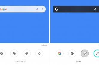تطبيق بحث قوقل يتيح الآن تخصيص الشريط لونًا وشكلًا