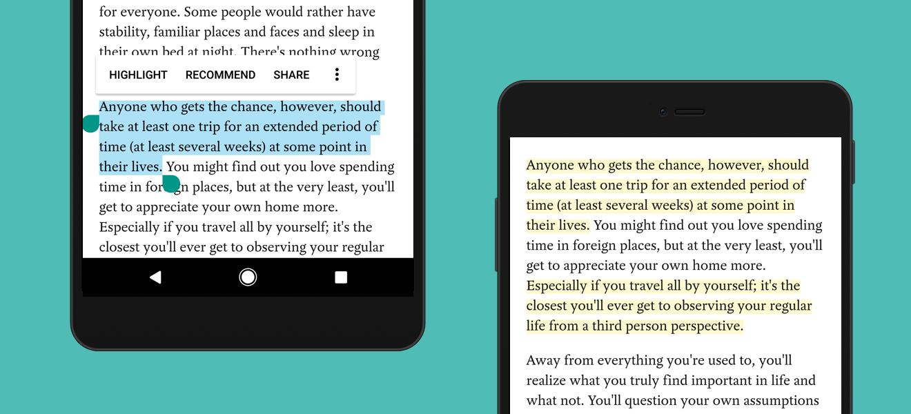 تحديثPocket يدعم الآن تحويل النص إلى كلام دون الحاجة للمس
