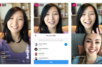 Instagram now lets people add guests to live video streams