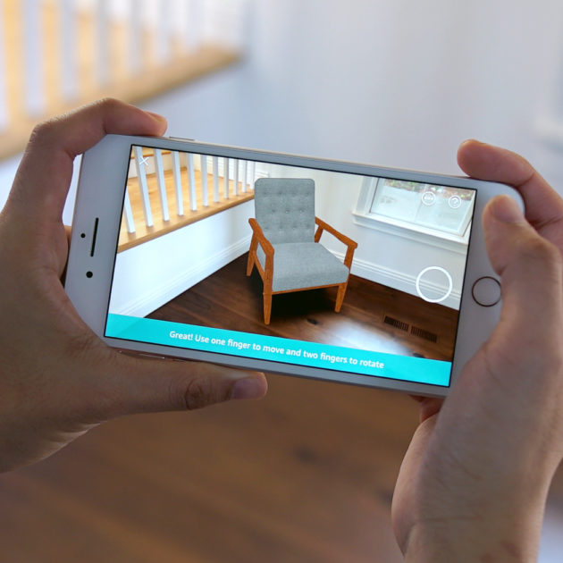 Ar for Online shopping for the home