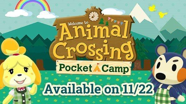 نينتندو تحدد موعد إطلاق لعبتها Animal Crossing Pocket Camp