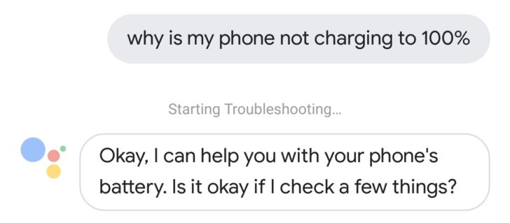 مساعد قوقل الرقمي Google Assistant قادر على فحص المشاكل الموجودة في هواتف بيكسل
