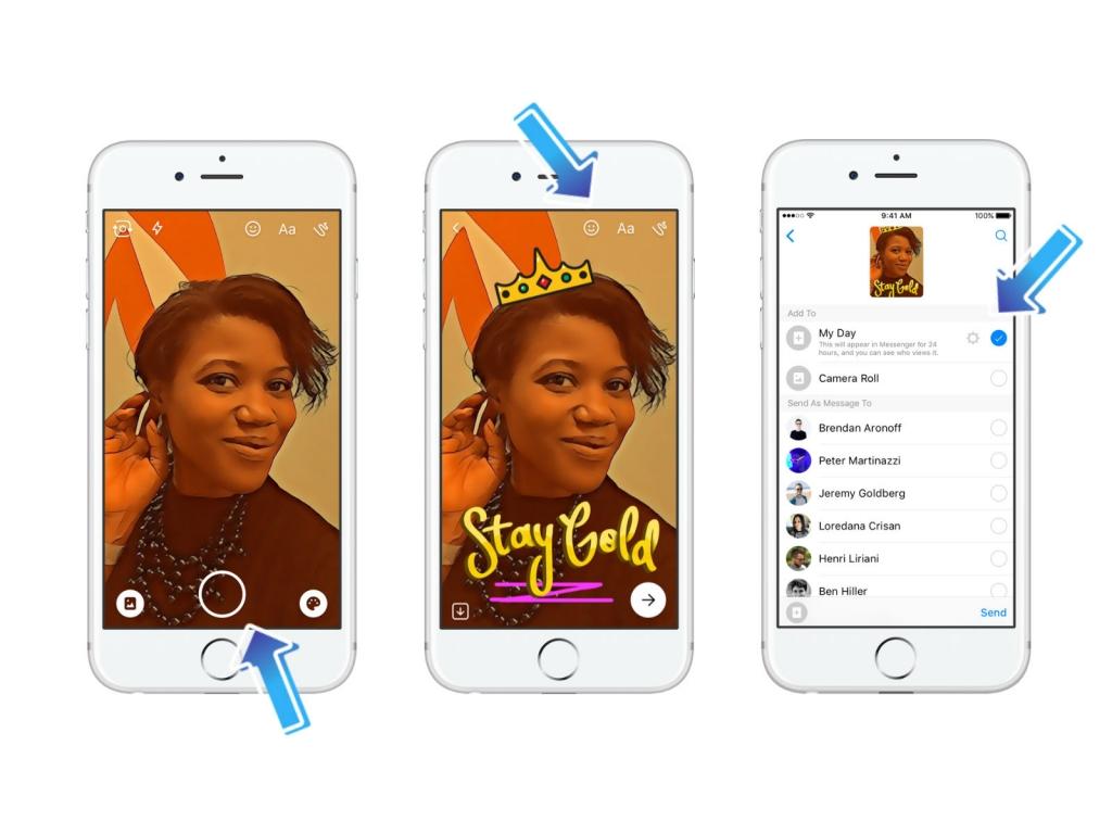 فيسبوك تبدأ اختبار تبادل الحكايات مع الأصدقاء في محاولة جديدة لنسخ ميزات سناب شات