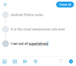 تويتر تغريدات طويلة