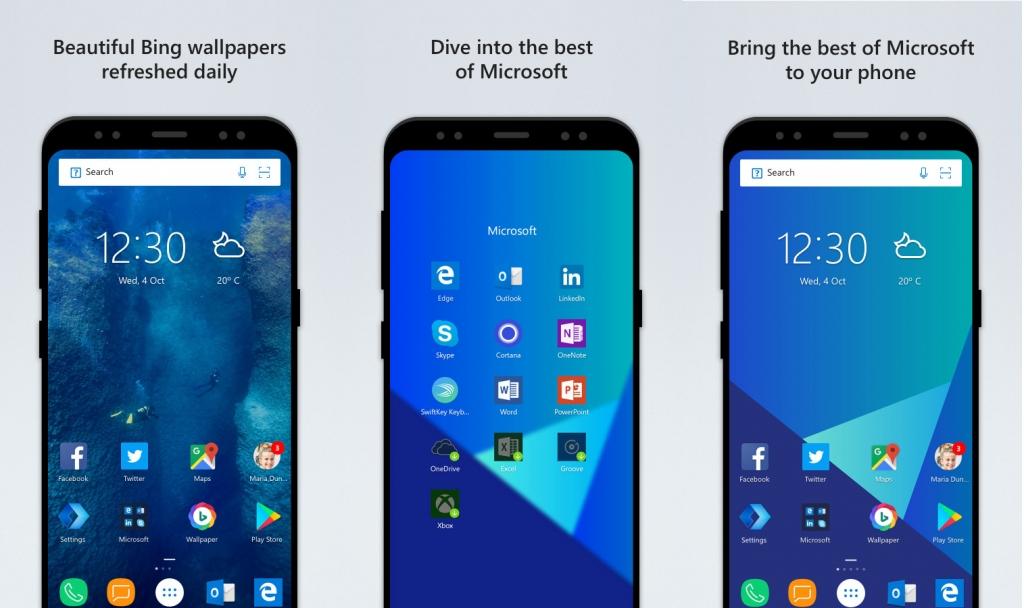 تحديث لانشر مايكروسوفت يأتي بتصميم وتجربة مستخدم جديدة