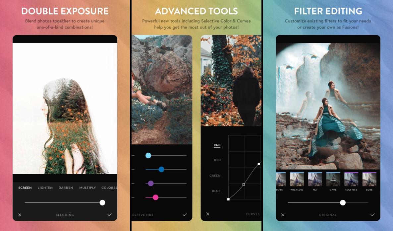 إطلاق الإصدار الثاني من تطبيق محرر الصورAfterlight 2 على iOS