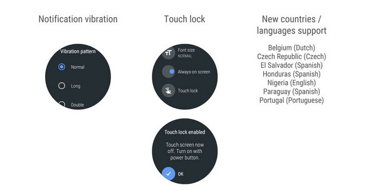 Oreo for Android Wear