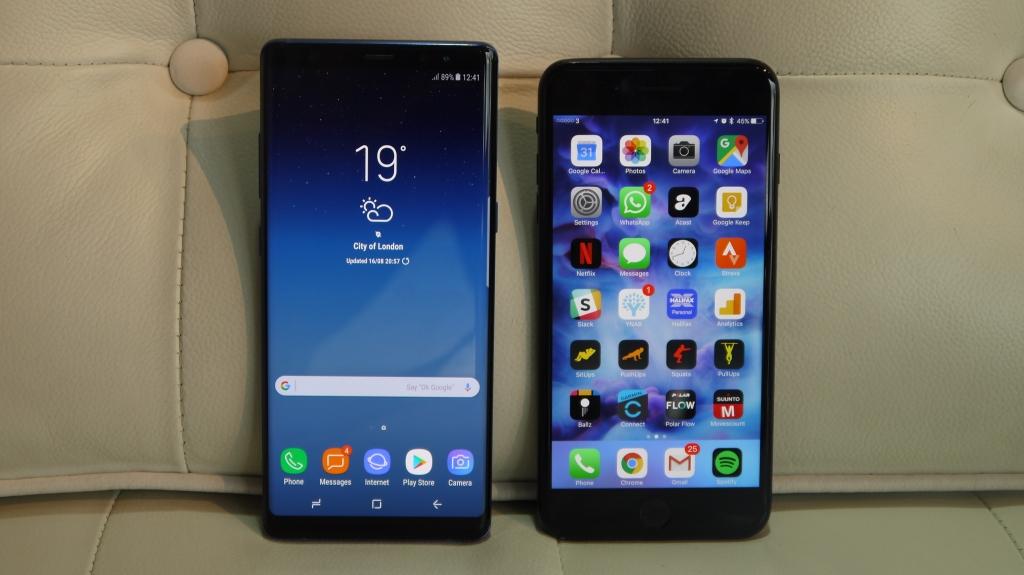 مبيعات الهواتف الربع الثالث
