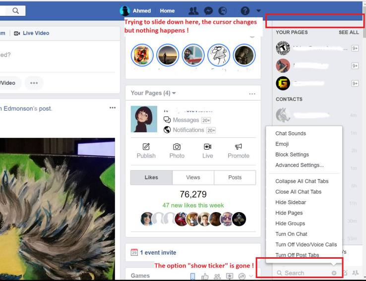 Facebook's 'ticker,' aka creeper feed, is no more