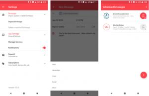 تطبيقScheduled على أندرويد لجدولة أي رسالة وإرسالها تلقائيًا