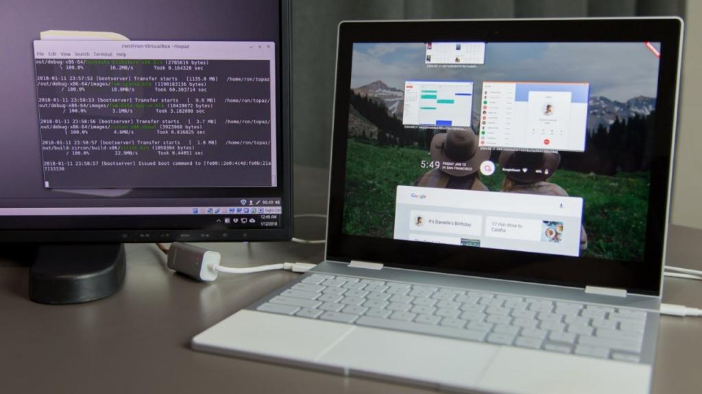 فوشيا Fuchsia OS