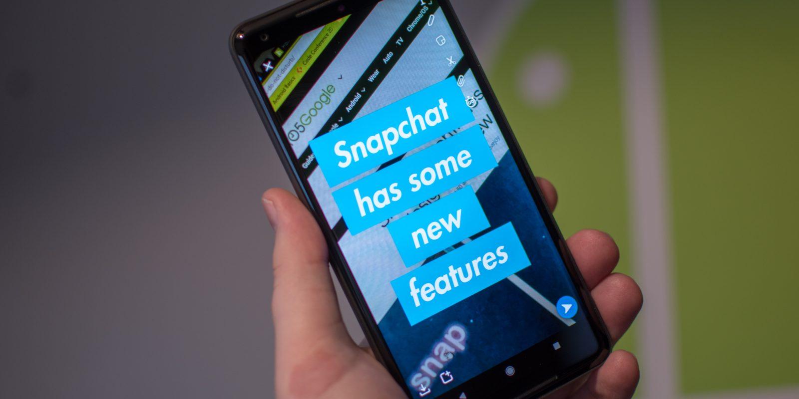snapchat new text features - كشفت سناب شات عن عدستها الأولى للوجوه التي تتفاعل مع الصوت