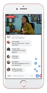 Facebook Premieres