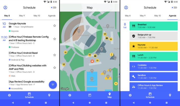 قوقل تُحدّث التطبيق الخاص بمؤتمرها القادمI/O 2018