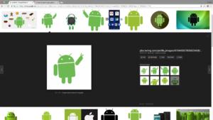 قوقل تختبر واجهة مستخدمة مختلفة في بحث الصور