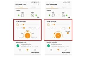 تحديث مهم يصل سماعات سامسونج Gear IconX اللاسلكية