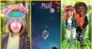 سنابشات تُطلق Snappables لألعاب الواقع المُعزز