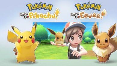 Pokemon: Let's Go, Pikachu! و Pokemon: Let's Go, Eevee