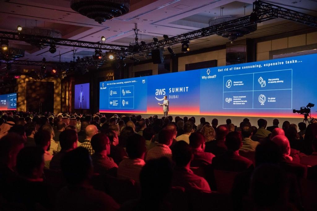 انعقاد قمة أمازون ويب سيرفيسز (AWS) الأولى في دبي