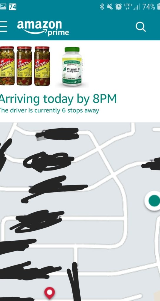 Amazon Map Tracker