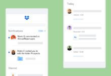 تطبيقDropbox يحدّث واجهته الرئيسية مع مزايا معاينة جديدة