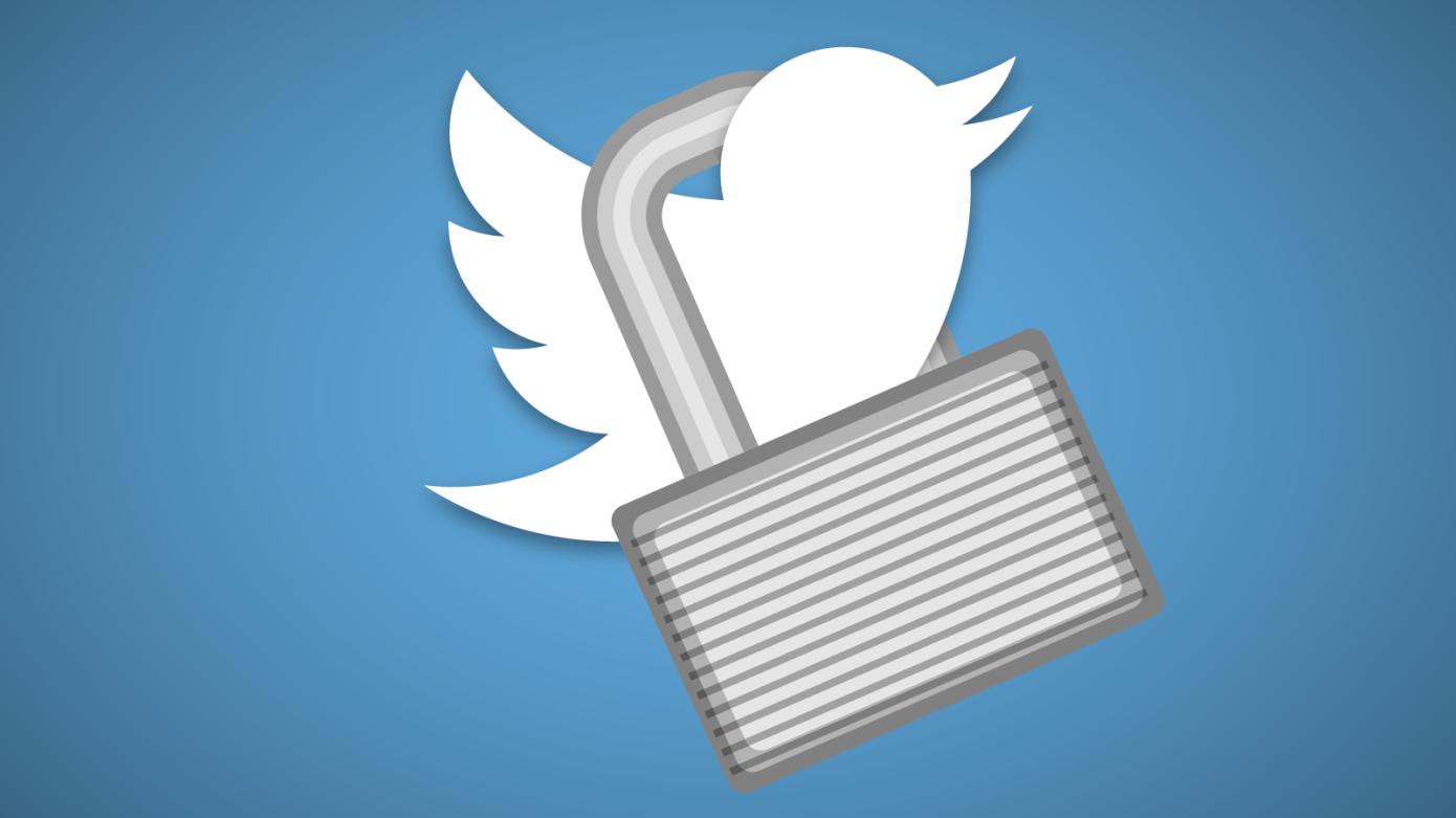 twitter locked - تويتر تطور خاصية الرسائل المشفرة من أجل حماية أكبر لبيانات المستخدمين
