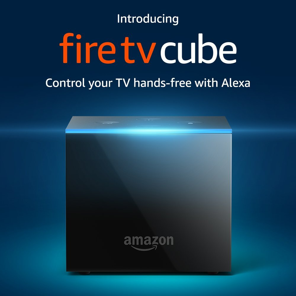 أمازون تعلن عن جهاز Fire TV Cube