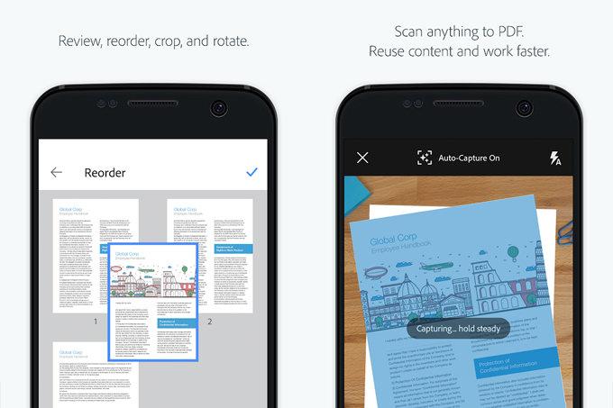 تطبيق Adobe Scan يدعم الآن مسح بطاقات العمل وتحويلها إلى جهة اتصال